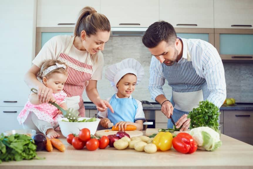 gesunde Nahrung Kinder Bild